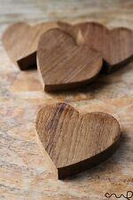 NUOVO taglio fatti a mano a mano in legno massello di legno cuore fai da te 16mm spessore DECOR iva Craft