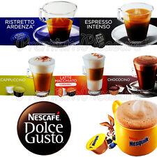 Nescafe Dolce Gusto Coffee pods capsules *Latte Espresso Nesquik* BOX of 16 PCS