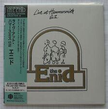 THE ENID - Live At Hammersmith Vol.2 JAPAN MINI LP CD NEU IECP-10084