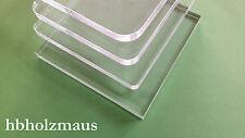 (119,99€/m²) 5 mm - PLEXIGLAS® klar Laser Zuschnitt Platte , Größe wählbar