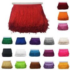 "6/"" ROUGE Catenary Frange abat-jour Lampe Costume Trim By The Yard danse Robe"