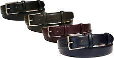 Cintura 3,5 CM extralunga in vitello liscio tipo seta - 35 mm - P35
