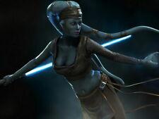 Aayla Secura Jedi Master Lightsaber Star Wars Huge Giant Print POSTER Affiche