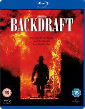 Backdraft [Blu-ray], Good DVD, Kurt Russell, William Baldwin, Robert DeNiro, Don