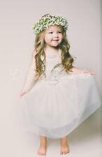 Flower Girl Dress- The Evangeline dress in white