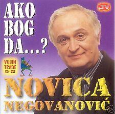 NOVICA NEGOVANOVIC CD Ako bog da Marija Jedna reka Folk Narodna Vatra i vino Hit