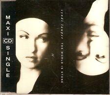 "CYNDI LAUPER - MAXI CD ""THE WORLD IS STONE"""
