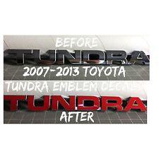 Toyota Tundra 07 08 09 10 11 12 13 SR5 4x4 Emblem Overlay Decals