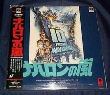 FORCE 10 FROM NAVARONE - FS Japan Laserdisc - with obi