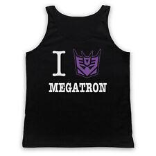 I HEART LOVE MEGATRON TRANSFORMERS UNOFFICIAL CARTOON ADULTS VEST TANK TOP