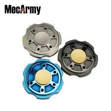 Mecarmy GP3 round Titanium Fidget Spinner, relax , Hand Excise, Relieves Stress