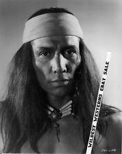 JAY SILVERHEELS Rare INDIAN PHOTO Lone Ranger GERONIMO Clayton Moore Pal TONTO