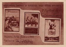 """#PALERMO: 1983- 1a MOSTRA DI CARTOLINE D'EPOCA- GALLERIA """"IL CENACOLO"""""""