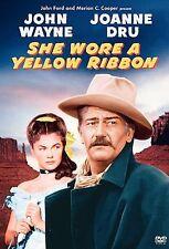 She Wore a Yellow Ribbon -  JOHN WAYNE, Joanne Dru 1949 (DVD, 2002) NR Color FS