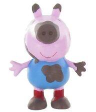 Peppa Pig figurine George On the mud 5 cm Pig in the mud Comansi Y99688
