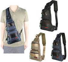 Men Women Sling Bags Chest Pack Small Sling Backpack Shoulder Pack Bag Hiking