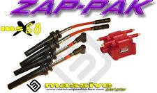 Ignition Kit MSD Coil MSX80 Performance Spark Plug Cables Wires Neon SRT-4 2.4