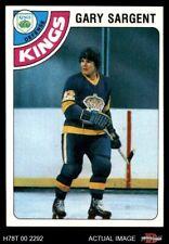 #37 Gary Sargent Kings-Hockey NM