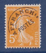FRANCE PREOBLITERE N°  50 **, TB, cote: 130 €