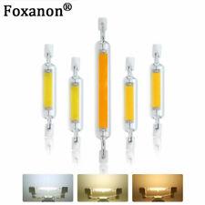 LED R7s J78 J118 7W 12W 15W 25W COB Floodlight Bulbs Glass Ceramic Lamp