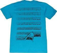 AUTHENTIC JAWS DUN-NUN SHARK THEME SONG MUSIC NOTES T TEE SHIRT S M L XL 2XL