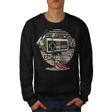 Nintendo Retro Game Men Sweatshirt NEW | Wellcoda