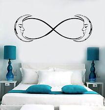 Vinyl Wall Decal Moon Crescent Infinity Bedroom Dream Decor Stickers (ig4786)