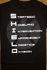 Marvels Agents Of Shield Letters Marvel Comics T-Shirt