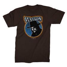 Waylon Jennings Fugitive Outlaw Country Rockabilly Music Band T Shirt 10118854