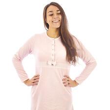 Camicia da notte donna  invernale in caldo cotone interlock felpata  7DICAM025