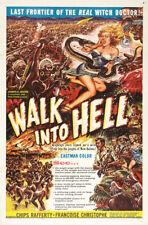 Walk into Paradise horror movie poster print
