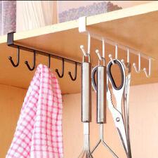 HK- Kitchen Storage Rack Cupboard Hanging Hook Hanger Chest Organizer Mug Holder