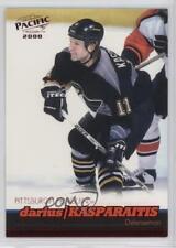 1999-00 Pacific Red #339 Darius Kasparaitis Pittsburgh Penguins Hockey Card