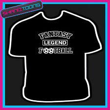 Fantasy Football Leyenda Addict Funny Pub lema Camiseta