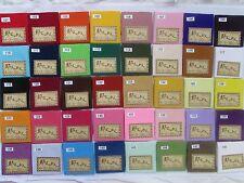 """Pre-Cut (9.0 """"× 12.9"""")Plain Rayon Crepe Japanese Chirimen Quilt Fabric Patchwork"""