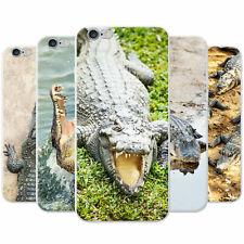 Crocodiles & Alligators Snap-on Hard Back Case Phone Cover for Apple Phones