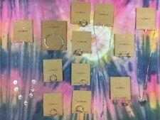 Brandy Melville Jewelry Bundle Lot silver gold bracelet ring earrings necklace
