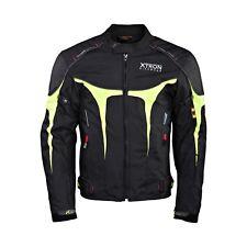 Impermeable de Motocicleta Cordura Chaqueta Textíl Motociclista Moto Protección