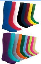 Medium Womens/Mens Solid Color Baseball Socks Sock Size 9-11