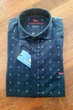 Camicia Casual Uomo Harmont&Blaine Collo Francese Blu C0348IT Regular Fit €1̶8̶0