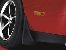 08-14 Dodge Challenger New Mopar Molded Splash Guards Front Black Mopar OEM