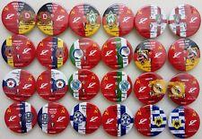Alle European Cup Match Play-Pins SPARTAK Moskau UdSSR Rusland 1966 - 2016 set 3