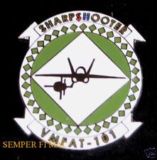 VMFAT-101 SHARPSHOOTERS HAT PIN F-18 HORNET US MARINES MCAS EL TORO MIRAMAR NAVY