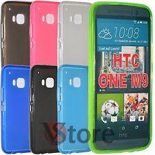 Cover Custodia Per HTC One M9 Gel Silicone TPU