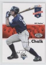 2008 TRISTAR PROjections 279 Brad Chalk San Diego Padres Fort Wayne Wizards Card