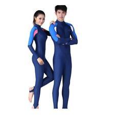 Diving Wetsuit Surfing Freedive Front Zip Suit Rash Guard Swimwear for Men Women