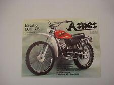 advertising Pubblicità 1975 MOTO ASPES NAVAHO ECO