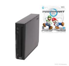 Nintendo Wii Mario Kart Pack 512MB Schwarz Konsole (PAL)
