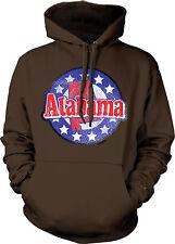 Alabama US State Alabaman Outline Yellowhammer From Born Stars Hoodie Sweatshirt
