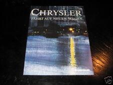 Prospekt Chrysler Le Baron, Jeep Wrangler u.a (deutsch)